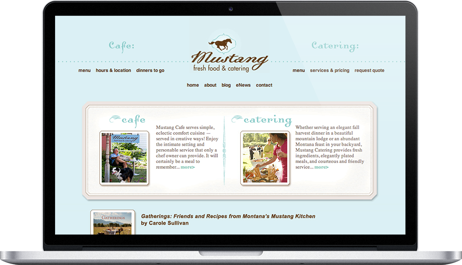 cafe web design