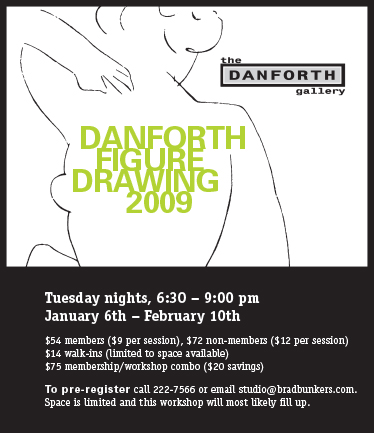 graphic work Danforth Figure