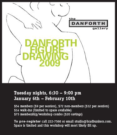 graphic work Danforth Figure