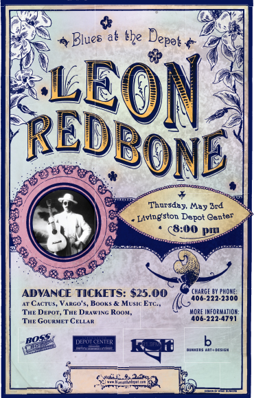 graphic work Leon Redbone