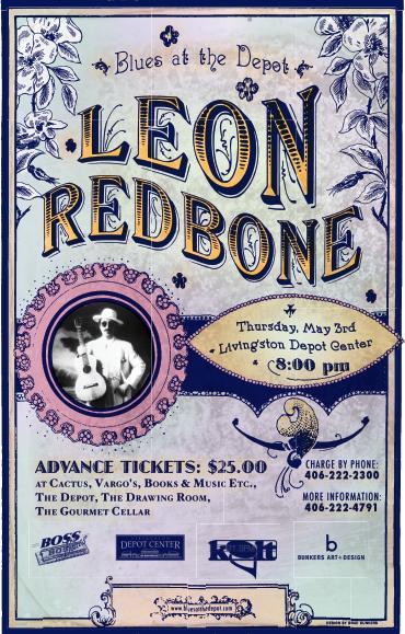 graphic work Leon Redbone