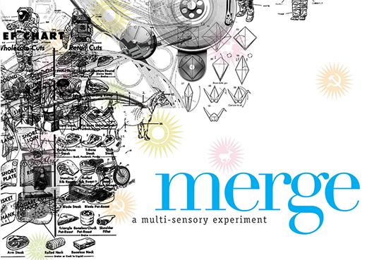 graphic work Merge