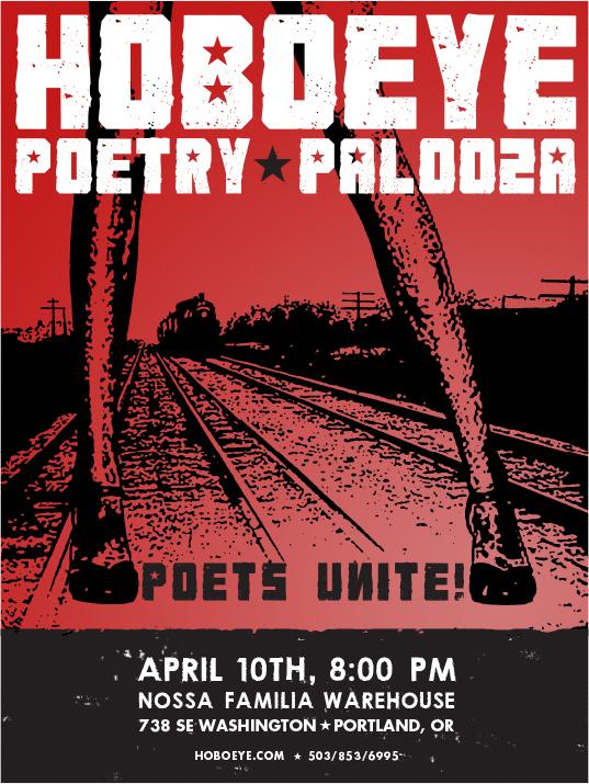 graphic work Hoboeye Poetry Palooza